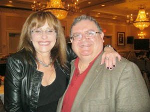 Janet with Joe Richichi at Davinci Society Primavera