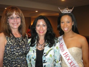 Janet Killian with Shawna Saints & Miss Hockessin at Meals for the Masters