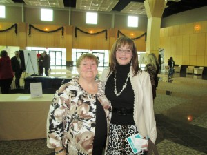Pat Forester and Janet at 2013 Delaware Today Women in Business Luncheon
