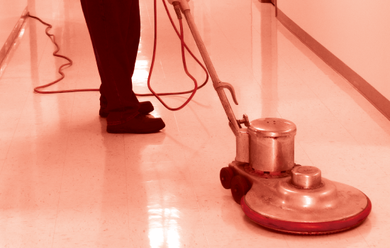 Waxing Tile Floors