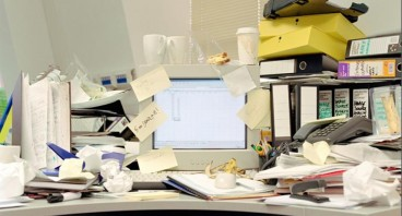 The Dangers of a Messy Desk